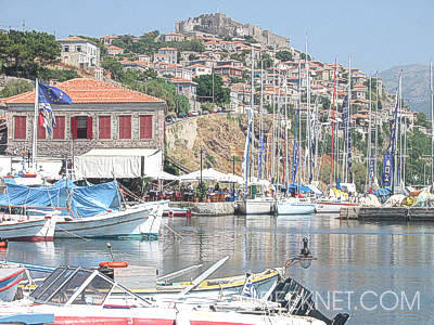Molivos' (Mithymna)views from its picturesque harbour